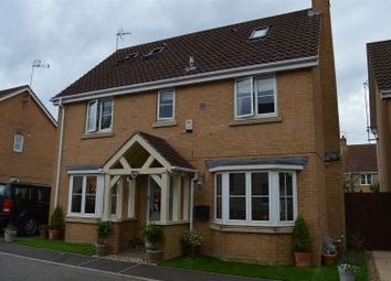 Thumbnail 4 bed detached house for sale in Moughton Court, West Winch, Kings Lynn