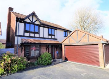 Thumbnail 4 bed detached house for sale in Purbeck Close, Weymouth