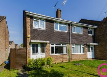 Thumbnail 3 bed semi-detached house for sale in Linwell Close, Cheltenham