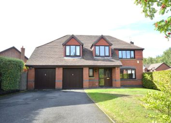 Thumbnail 4 bed detached house for sale in Littlecote Gardens, Appleton, Warrington