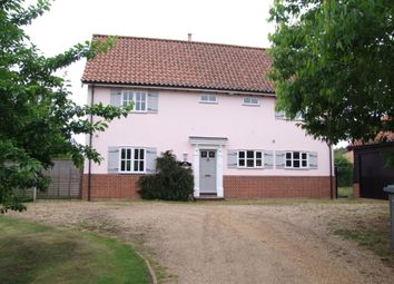 Thumbnail 4 bed detached house for sale in Aldecar Lane, Benhall, Saxmundham