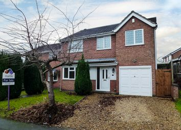 Thumbnail 4 bed detached house for sale in Harcourt Place, Castle Donington, Derby