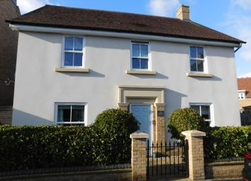 Thumbnail 4 bed detached house for sale in Faraday Gardens, Fairfield, Herts