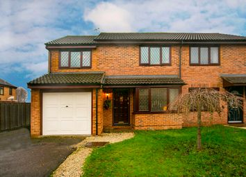 Thumbnail 3 bed semi-detached house for sale in Sibson, Lower Earley, Reading