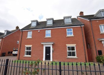 Thumbnail 5 bed detached house to rent in Winterton Close, Stamford