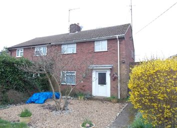 Thumbnail 3 bed semi-detached house for sale in Benefield Road, Moulton, Newmarket