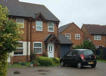 Thumbnail 2 bed semi-detached house to rent in Chesterton Drive, Stanwell, Staines, Middlesex