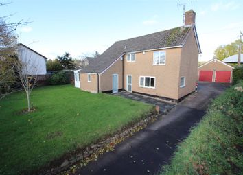 Thumbnail 3 bed detached house for sale in Cherry Tree Gardens, Cowleymoor Road, Tiverton