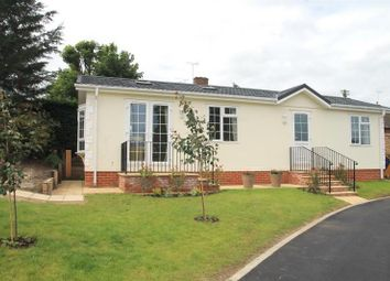 Thumbnail 2 bed mobile/park home for sale in Ladies, Willows Riverside Park, Windsor