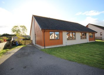 Thumbnail 2 bed semi-detached bungalow for sale in 14 Essich Gardens, Holm, Inverness
