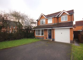 Thumbnail 4 bedroom detached house to rent in Garnett Close, Stapeley, Nantwich