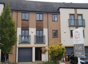 Thumbnail 3 bed town house to rent in Albert Crescent, Peterborough