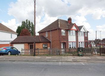 Thumbnail 3 bed semi-detached house for sale in Burnham Drive, Leicester