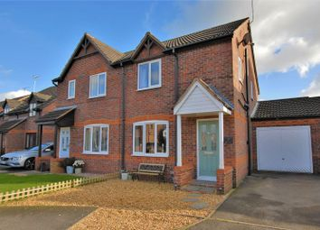 Thumbnail 3 bed semi-detached house for sale in Millbank Drive, Rocester, Uttoxeter