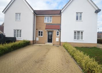Thumbnail 2 bed terraced house for sale in Sarah Rand Road, Hadleigh, Ipswich