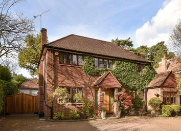Thumbnail 4 bed detached house for sale in Claremont Avenue, Camberley