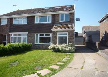 Thumbnail 4 bed semi-detached house to rent in Smeaton Close, Rhoose, Barry