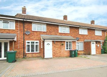 Thumbnail 3 bed terraced house for sale in Fitchet Close, Crawley