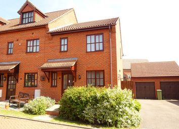 Thumbnail 3 bed end terrace house to rent in Minorca Grove, Shenley Brook End, Milton Keynes
