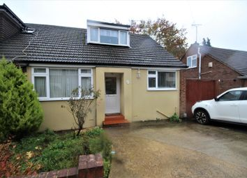 Thumbnail 2 bed semi-detached bungalow for sale in Saywell Road, Luton