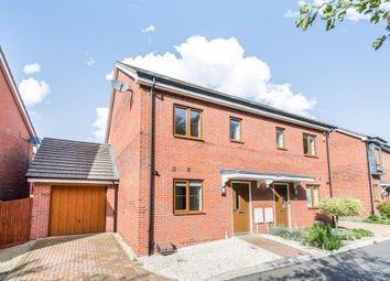 Thumbnail 3 bed semi-detached house to rent in Sheepwash Court, Basingstoke