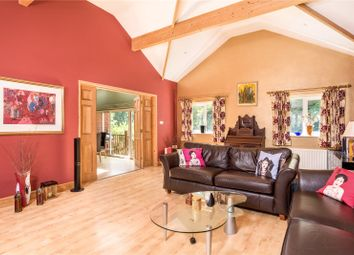 Thumbnail 5 bed detached house for sale in Rowhills, Farnham, Surrey