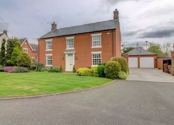 Thumbnail 4 bed detached house for sale in Longlands Place, Abbots Bromley, Rugeley