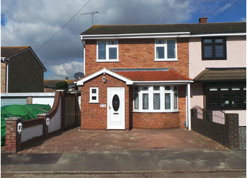 Thumbnail 3 bed terraced house to rent in Delview, Canvey Island