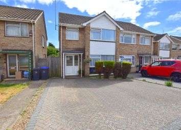 Thumbnail 3 bed semi-detached house for sale in The Lawns, Sompting, West Sussex