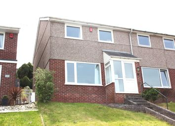 Thumbnail 3 bed end terrace house for sale in Sefton Avenue, Lispon, Plymouth