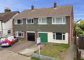 Thumbnail 3 bedroom semi-detached house for sale in Cobblers Bridge Road, Herne Bay, Kent