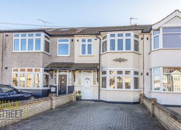 Thumbnail 3 bed terraced house for sale in Amery Gardens, Gidea Park