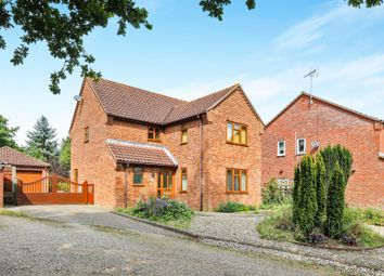 Thumbnail 4 bed detached house for sale in Oakwood Park, Yoxford, Saxmundham
