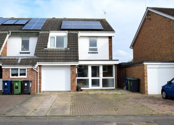 Thumbnail 4 bedroom end terrace house to rent in Huddleston Way, Sawston, Cambridge