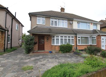 Thumbnail 3 bed semi-detached house for sale in Trent Avenue, Upminster