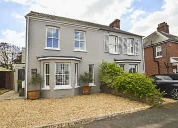 Thumbnail 3 bed semi-detached house for sale in Stanley Road, Lymington