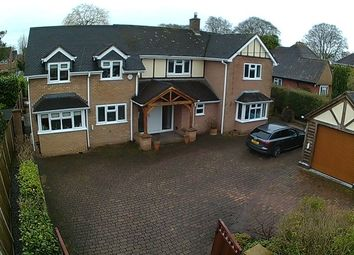 Thumbnail 4 bed detached house for sale in Prospect Road, Market Drayton
