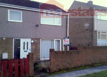 Thumbnail 3 bed terraced house to rent in Hemmel Courts, Brandon, Durham