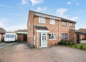 Thumbnail 3 bed semi-detached house for sale in Brunel Close, Westbury