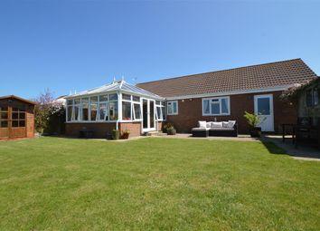 Thumbnail 3 bedroom detached bungalow for sale in Poplar Drive, Walcott, Norwich