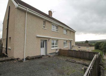 Thumbnail 3 bed semi-detached house for sale in Craiglea Crescent, Bellsbank, Dalmellington, Ayr