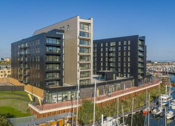Thumbnail 2 bed flat for sale in Whitewater House, Bayscape, Cardiff Marina