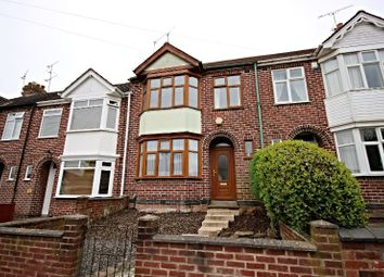 Thumbnail 3 bed terraced house for sale in Clovelly Road, Coventry
