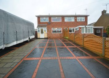 Thumbnail 3 bed semi-detached house for sale in Hall Road, Oulton Broad, Suffolk