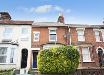 Thumbnail 2 bed terraced house to rent in Rectory Road, Ipswich, Suffolk