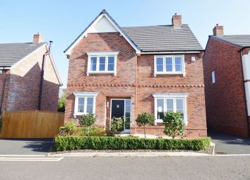 Thumbnail 4 bed detached house for sale in Golborne Road, Winwick, Warrington