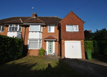 Thumbnail 4 bed semi-detached house to rent in Dove House Lane, Solihull
