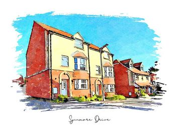 Thumbnail 4 bed semi-detached house for sale in Sycamore Drive, Allt-Yr-Yn, Newport, Newport