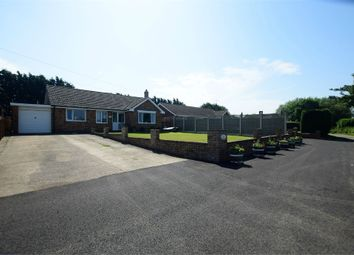 Thumbnail 3 bed detached bungalow for sale in Rose Lane, Saleby, Alford, Lincolnshire