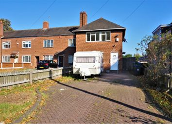 Thumbnail 3 bed end terrace house for sale in The Ridgeway, Birmingham